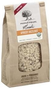 From the Fields Muesli Apricot Hazelnut