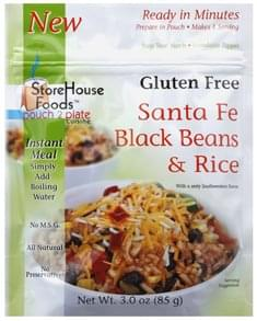 StoreHouse Foods Black Beans & Rice Santa Fe
