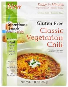 StoreHouse Foods Chili Classic Vegetarian