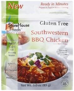 StoreHouse Foods Southwestern BBQ Chicken