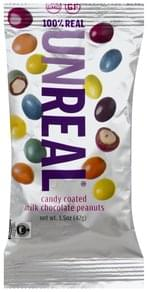 Unreal Peanuts Milk Chocolate, Candy Coated