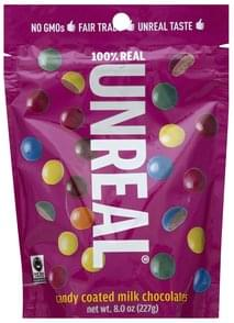 Unreal Milk Chocolates Candy Coated