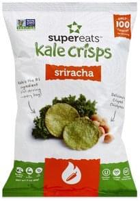 SuperEats Kale Crisps Sriracha