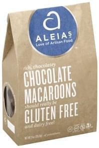 Aleias Macaroons Chocolate