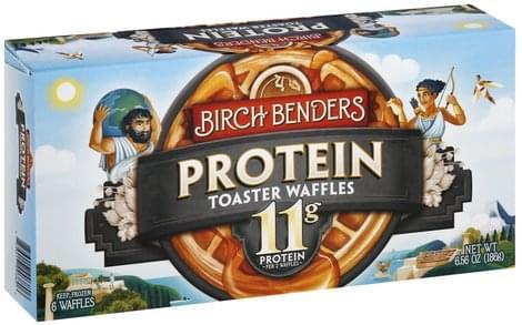 Birch Benders Protein Toaster Waffles - 6 ea