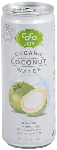 Coco Joy Organic Coconut Water - 11 oz