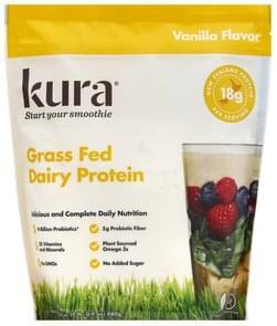 Kura Dairy Protein Grass Fed, Vanilla Flavor