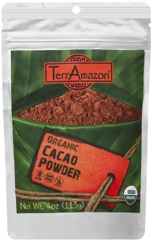 TerrAmazon Organic Cacao Powder - 4 oz
