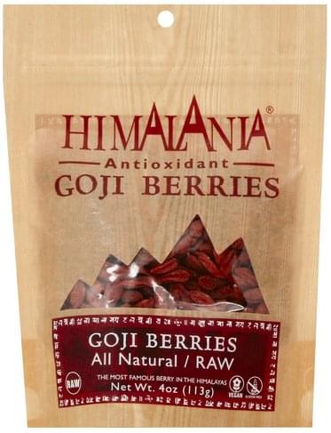 Himalania All Natural/Raw Goji Berries - 4 oz