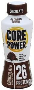 Core Power Milk Shake High Protein, Chocolate