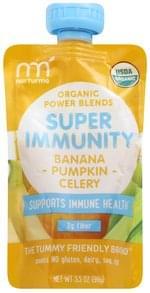 NurturMe Super Immunity Organic, Celery + Banana + Pumpkin