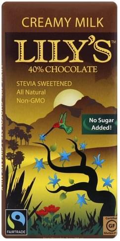 Lilys 40%, Creamy Milk Chocolate - 3 oz