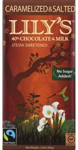 Lilys Chocolate Bar Caramelized & Salted