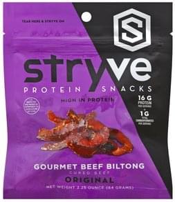Stryve Beef Biltong Gourmet, Original