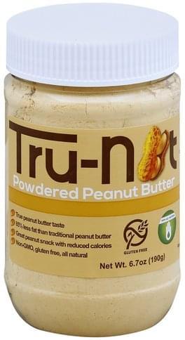 Tru nut Powdered Peanut Butter - 6.7 oz