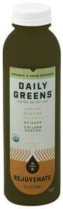 Daily Greens Vegetable and Fruit Juice Rejuvenate