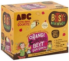Bitsys Brainfood Cookies Smart, Orange Chocolate Beet