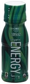 Steaz Green Tea Organic, Energy, Berry Flavor