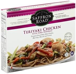 Saffron Road Teriyaki Chicken with Soba Noodles, Mild Heat Level