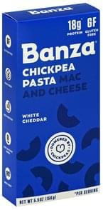 Banza Mac and Cheese Chickpea Pasta, White Cheddar