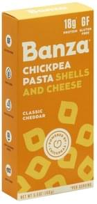 Banza Chickpea Pasta Shells and Cheese Classic Cheddar