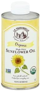 La Tourangelle Sunflower Oil Organic, High Oleic