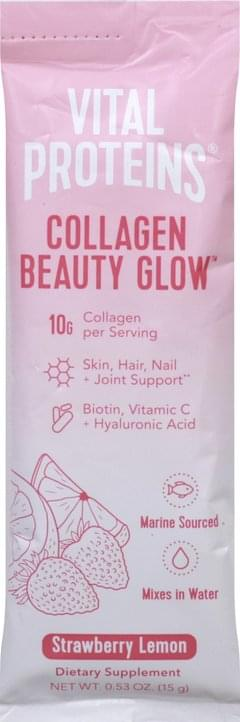 Vital Proteins Collagen Beauty Glow, Strawberry Lemon
