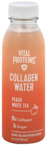 Vital Proteins Peach White Tea Collagen Water - 12 oz