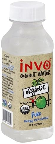 Invo Organic, Pure Coconut Water - 10 oz