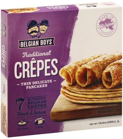 Belgian Boys Traditional Crepes - 18.5 oz