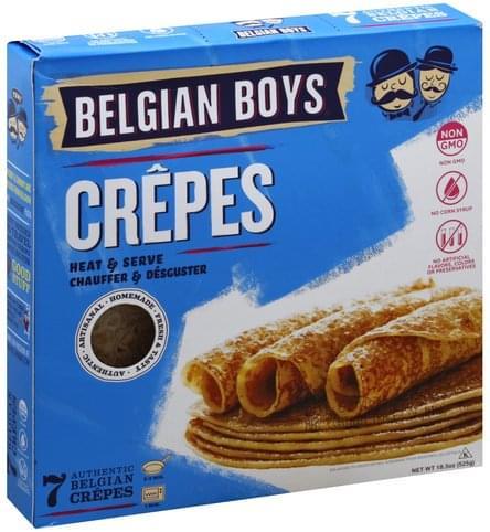 Belgian Boys Crepes - 7 ea