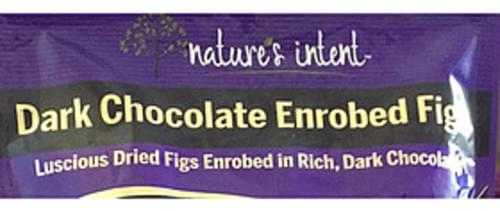 Nature's Intent Dark Chocolate Enrobed Figs - 42 g