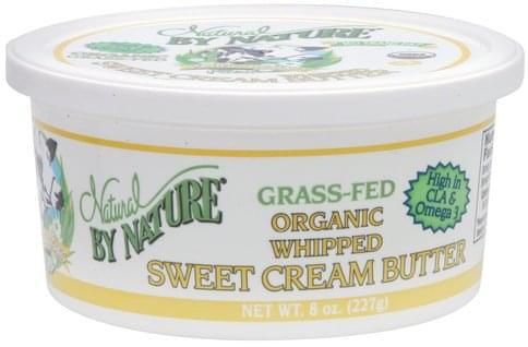 Natural By Nature Whipped Sweet Cream Butter - 8 oz