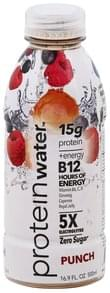 Protein Water Water Protein, Punch