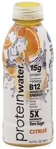 Protein Water Water Protein, Citrus