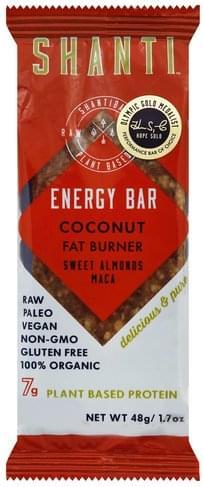 Shanti Coconut Energy Bar - 1.7 oz