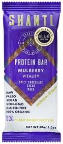 Shanti Protein Bar Mulberry Vitality