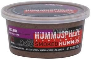 Hummusphere Hummus Applewood Smoked, Black Bean