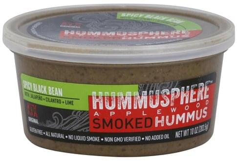 Hummusphere Applewood Smoked, Spicy Black Bean Hummus - 10 oz
