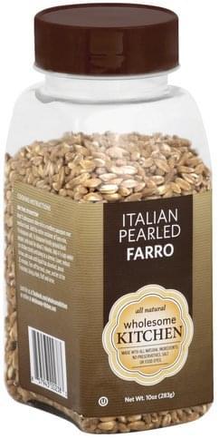 Wholesome Kitchen Italian Pearled Farro