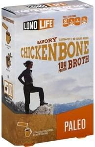 Lono Life Broth Gluten Free, Chicken Bone, Savory