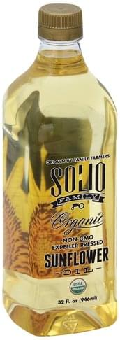 Solio Family Organic Sunflower Oil - 32 oz
