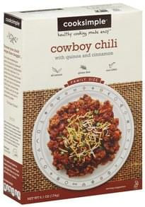 Cooksimple Cowboy Chili Family Size