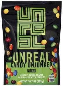 Unreal Candy Coated Chocolates with Peanuts