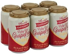 Austin Eastciders Cider Ruby Red Grapefruit