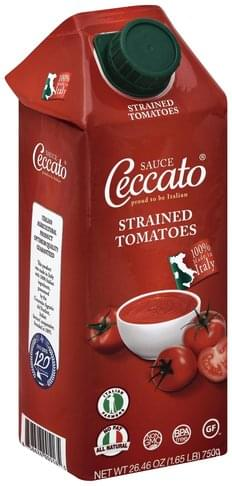 Ceccato Strained Tomatoes Sauce - 26.46 oz