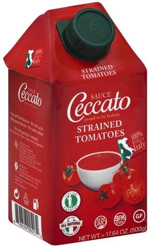 Ceccato Strained Tomatoes Sauce - 17.64 oz