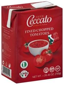 Ceccato Sauce Fined Chopped Tomatoes