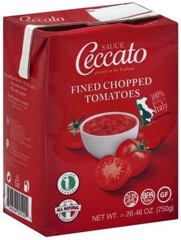 Ceccato Fined Chopped Tomatoes Sauce - 26.46 oz