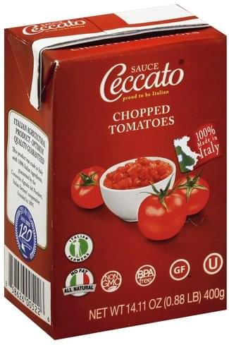 Ceccato Chopped Tomatoes - 14.11 oz
